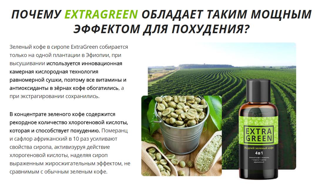 Можно ли похудеть зеленым кофе
