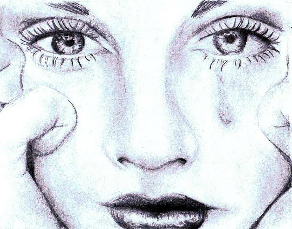 Картинки плачет карандаш