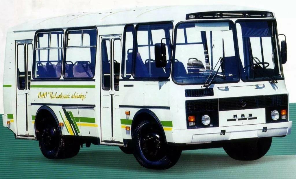 автобус паз все модели в картинках представляет фото