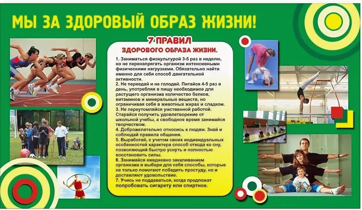 Картинки для стенда по здоровому образу жизни в школе