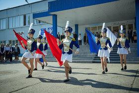 Линейка, посвященная Дню Победы 9 Мая. 2019