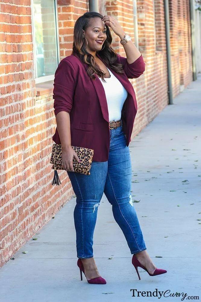 Plus Size Curvy Model Fashion Trendy Curve Style Outfits Joysporn 1