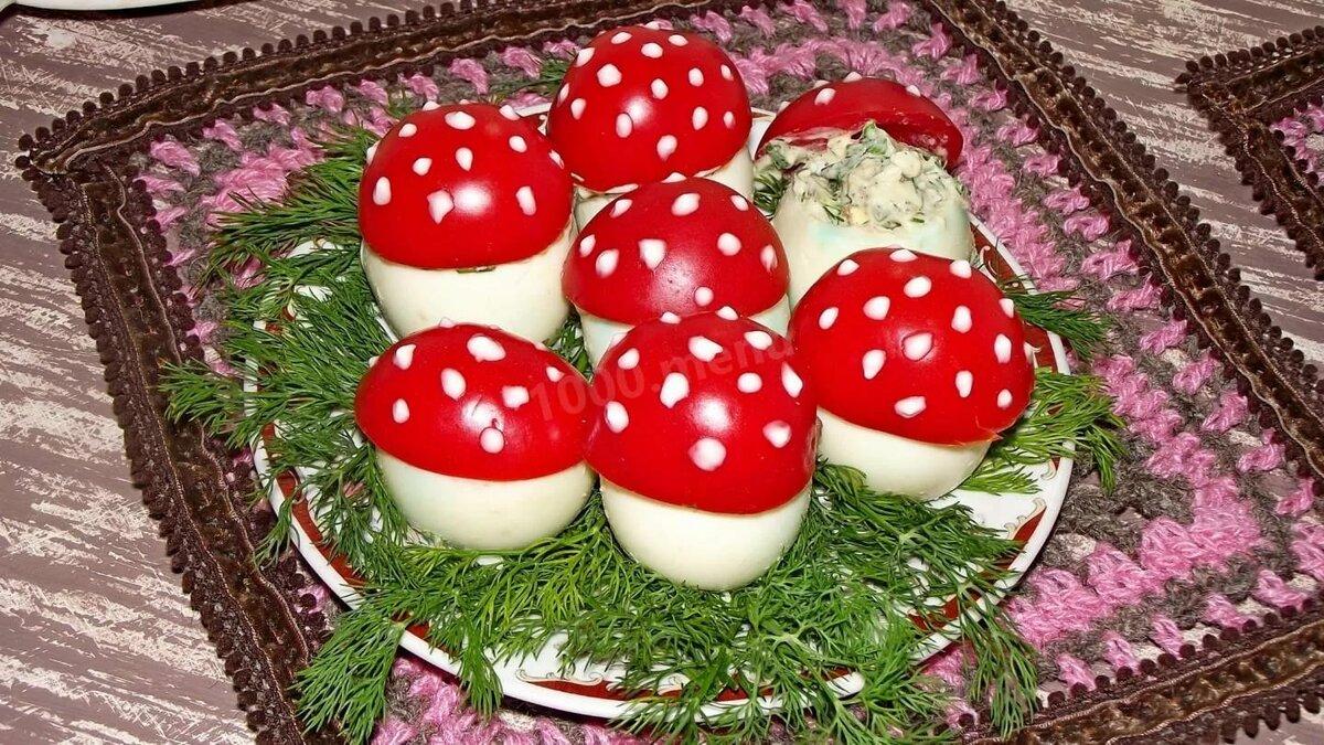 салат мухомор рецепт с фото сегодняшний