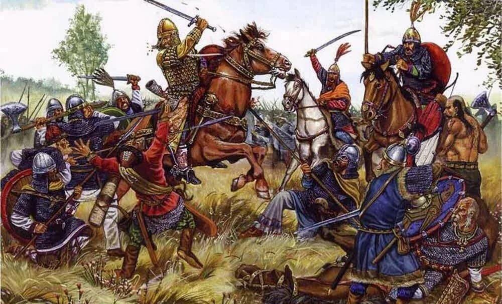 Война в древней руси картинки