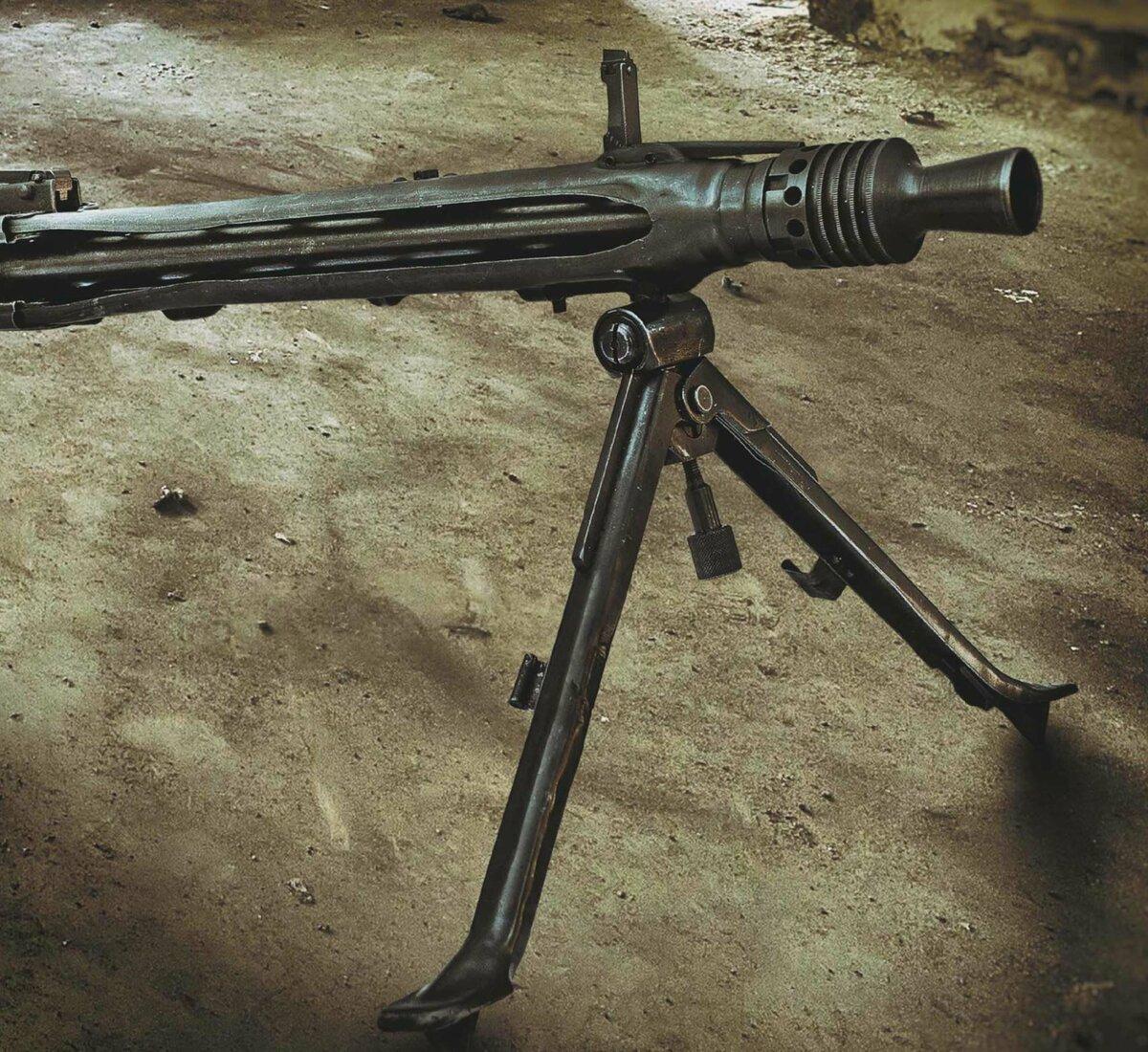 Фото немецкий пулемет мг