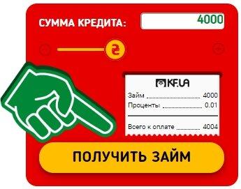 Кредиты онлайн на карту под 0 процентов