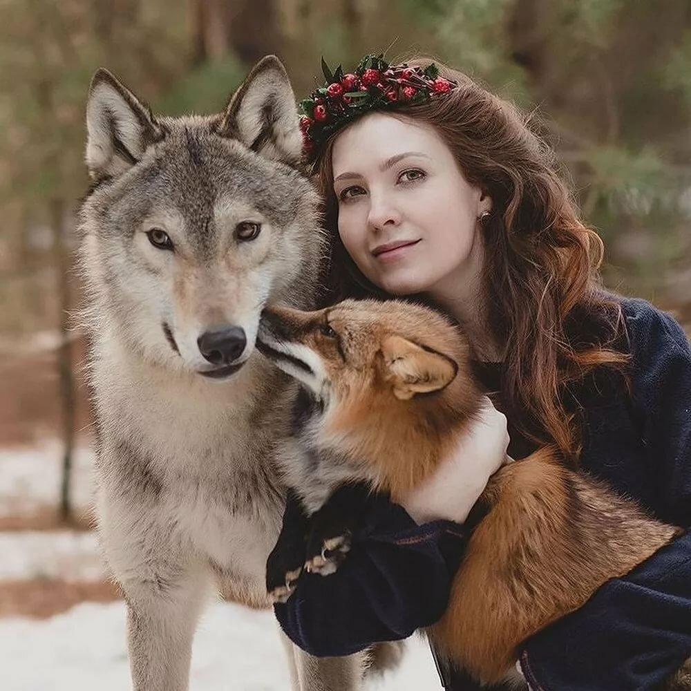 рождает красивые картинки люди и животные как