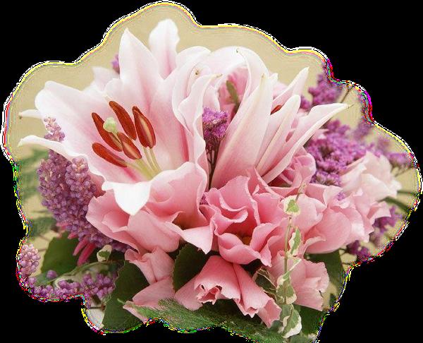 Клипарт картинки PNG-цветы,букеты