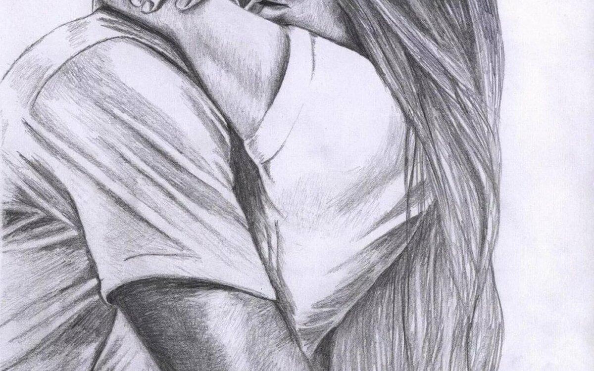 Картинки про влюбленных пар с надписями нарисованные
