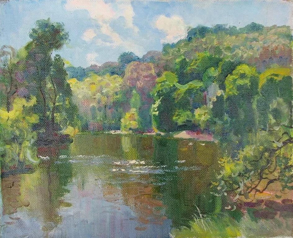 Советские художники пейзаж в картинках