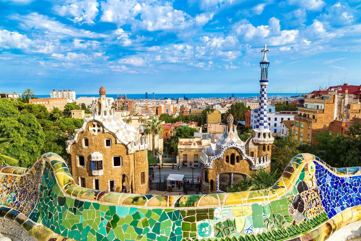 Барселона парк гуэль картинки