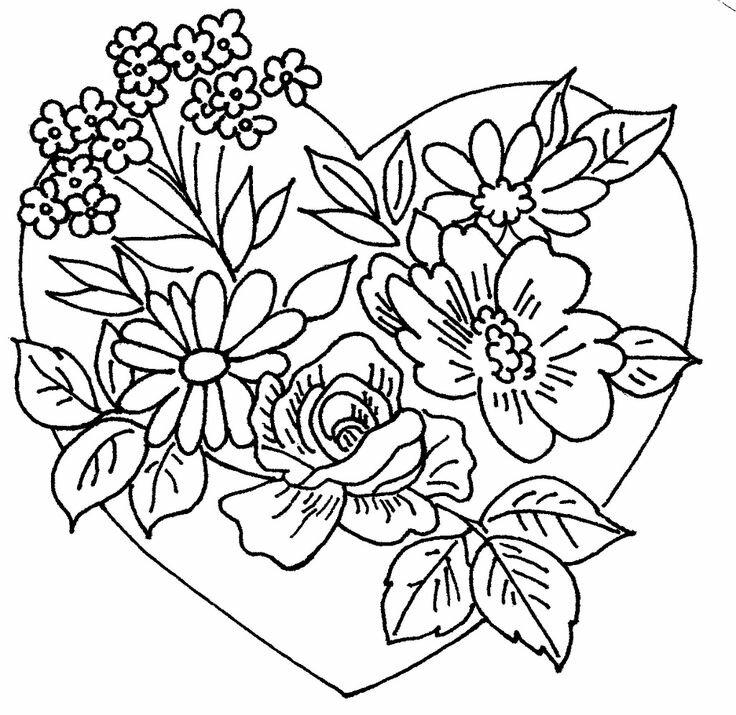 будут цветы для открыток раскраски началом покрасочных работ