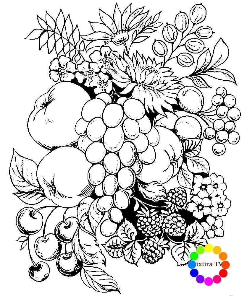 естественного картинки фрукты для выжигания по дереву твои искрятся