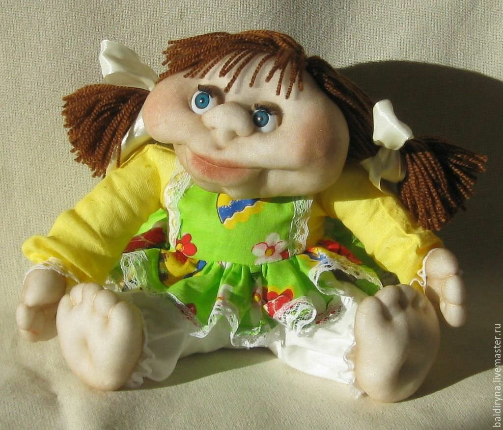 кукла в чулочной технике мастер класс аврелий