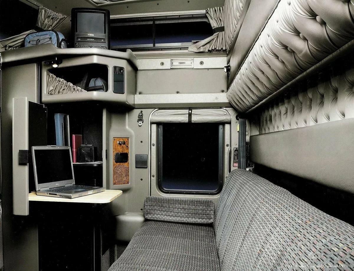 фото кабин и спальника лучших грузовиков мира лайн