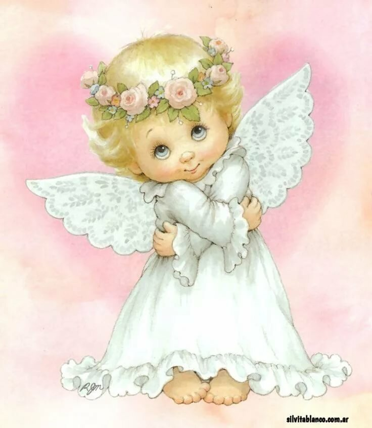 Открытка ангелочком, никиты