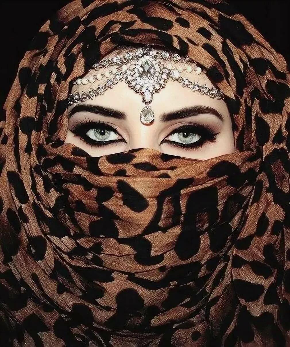 Картинка из арабски девушки