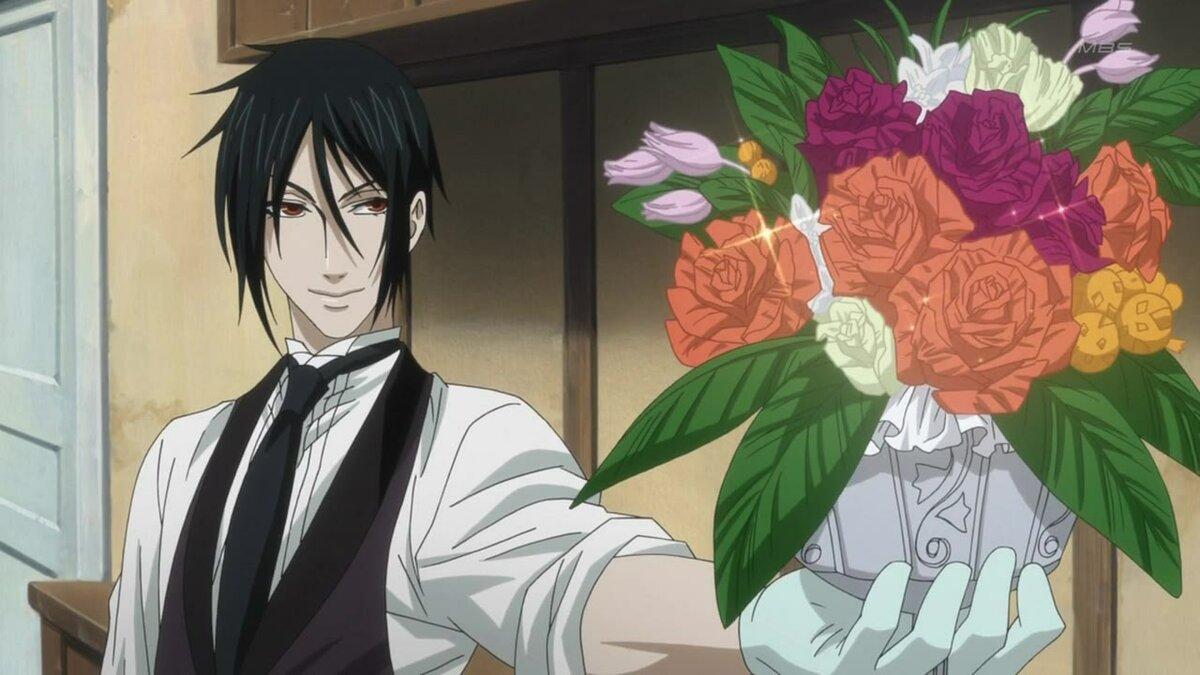 Надписью, аниме картинка поздравление с 8 марта