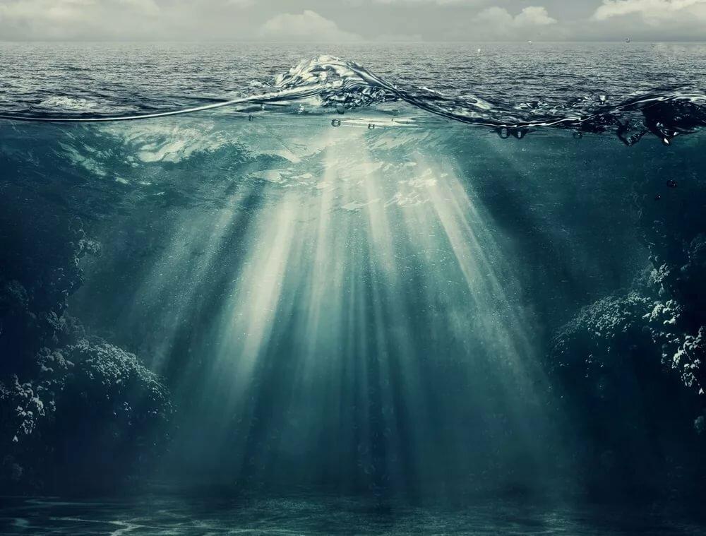 картинки свет в воде такое