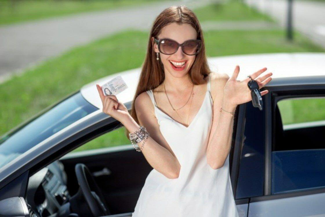 Цветами днем, картинки получение водительских прав