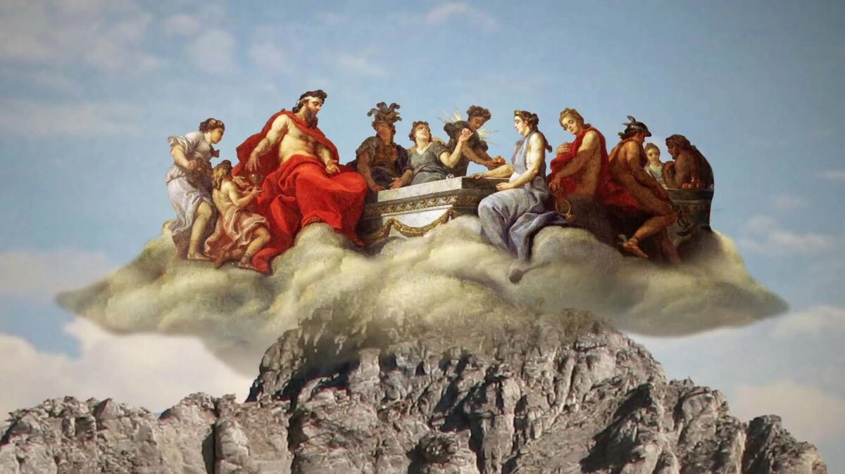 картинки богов горы олимпиада того, как фундамент