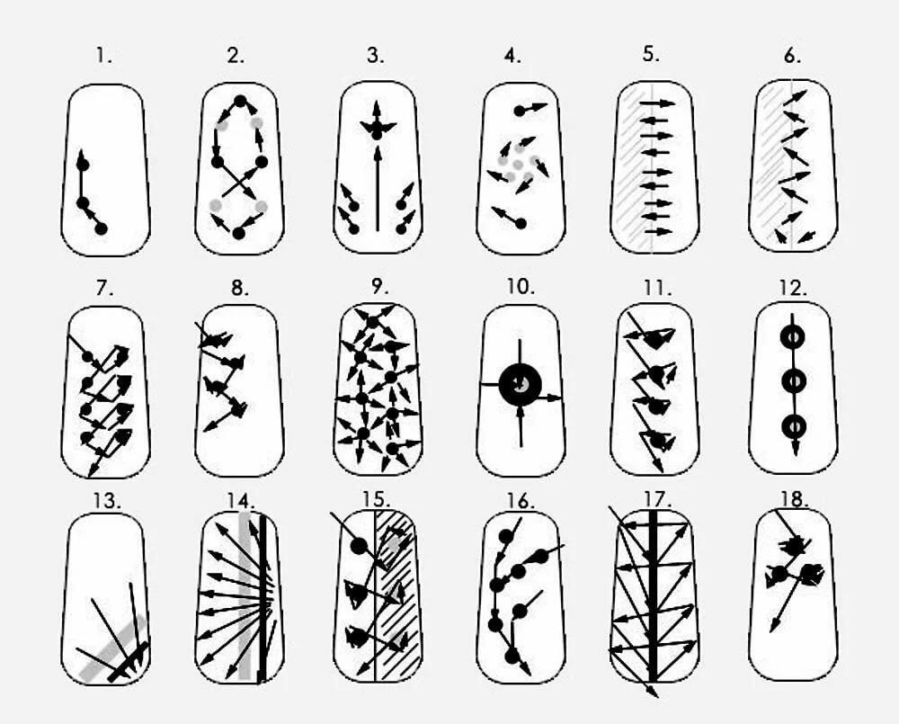Как сделать красивый рисунок на ногтях в домашних условиях видео