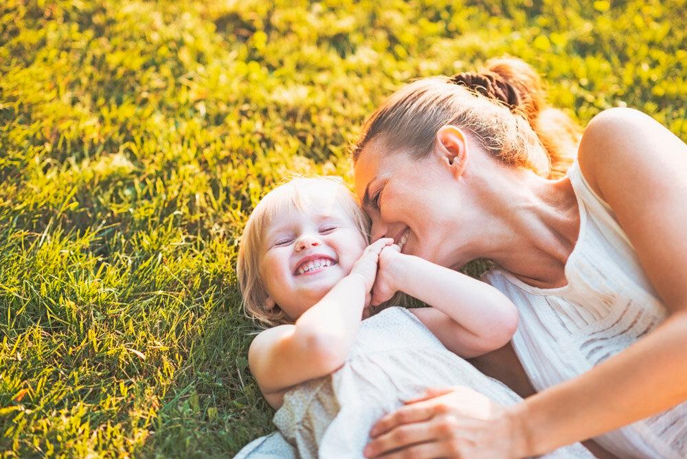 Трогательные картинки о маме