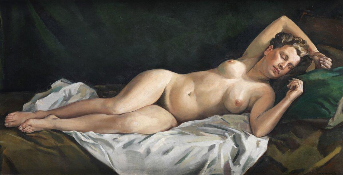 Nude painting fukeng — 1