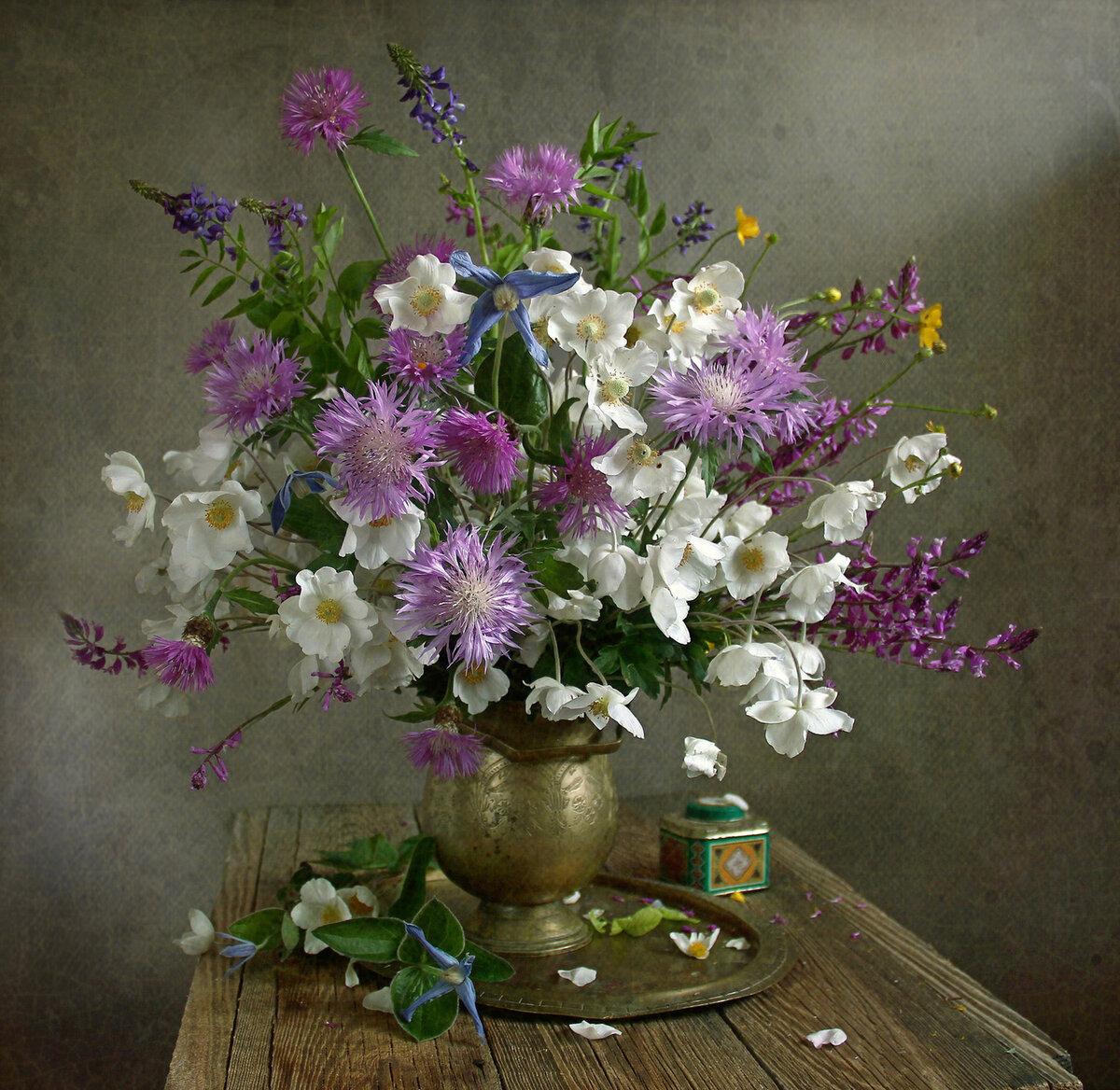 полевые цветы натюрморт фото можно самому
