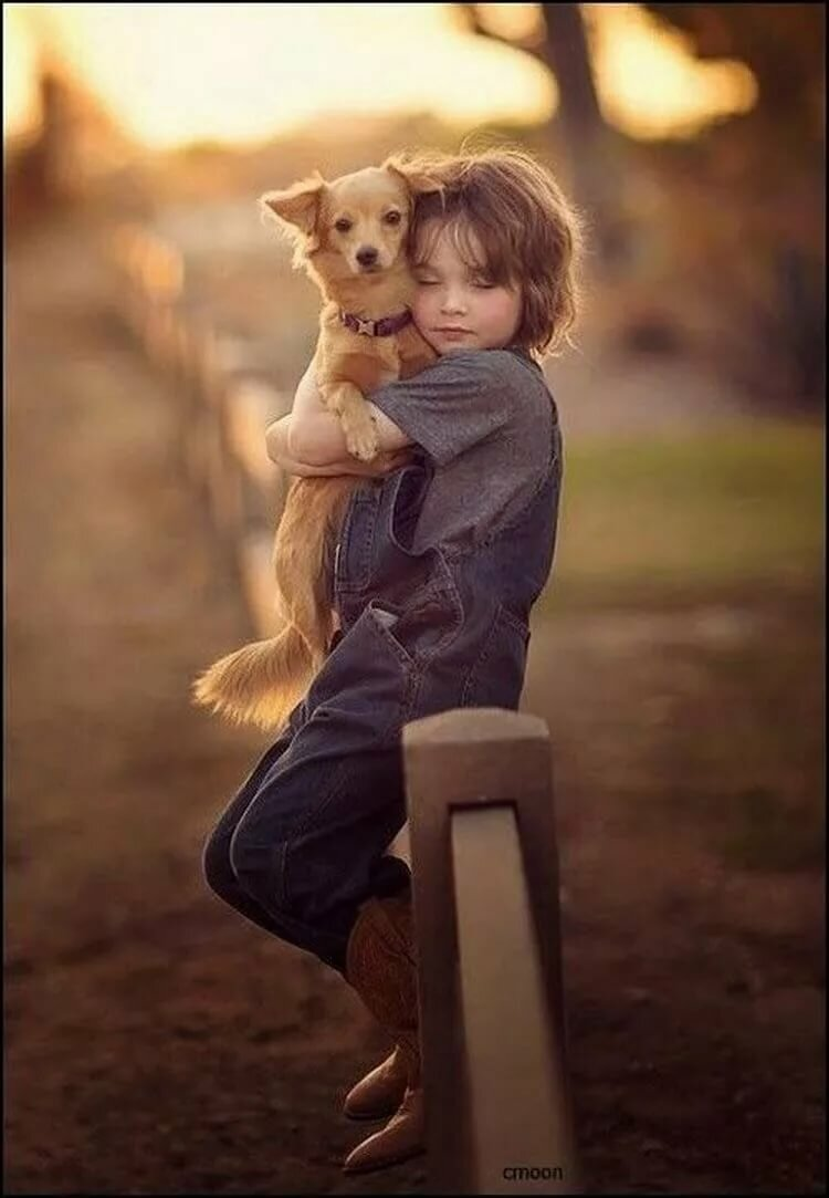 Картинки дети с животными милые, открытки мамам