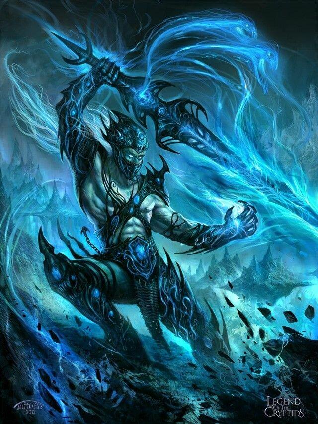 Картинки ледяного демона