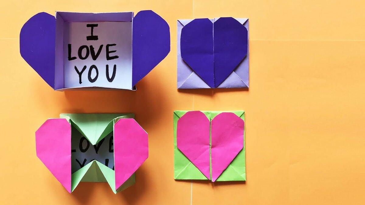 Открытки, открытка оригами на день матери