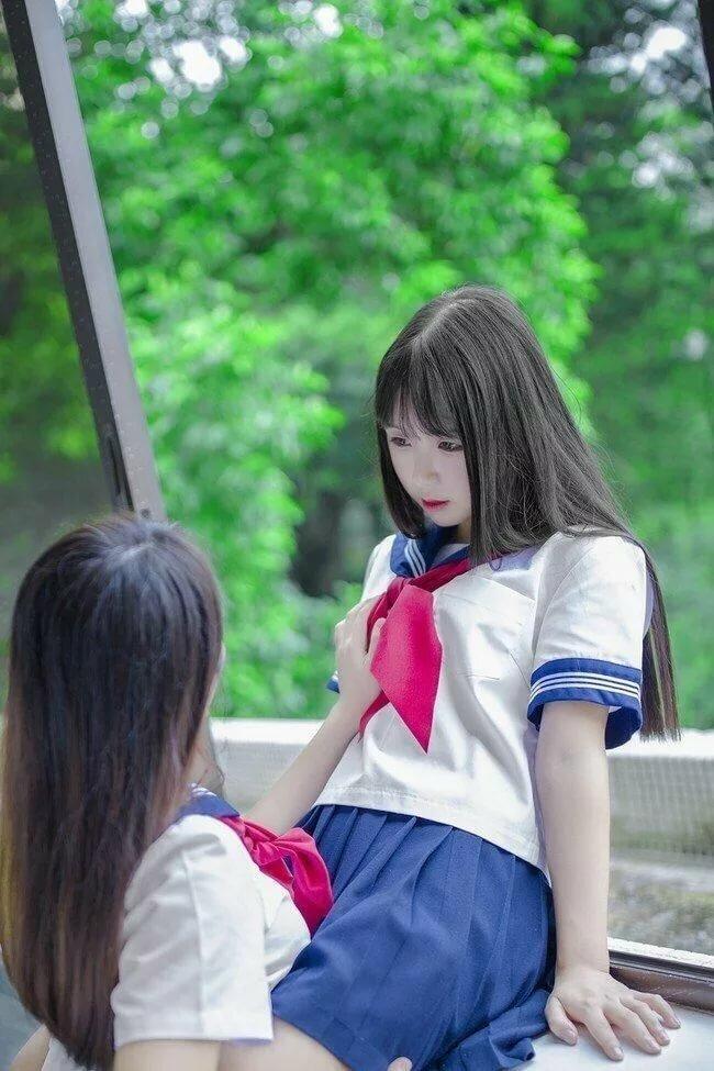 Japanese schoolgirl gifs blonde anal