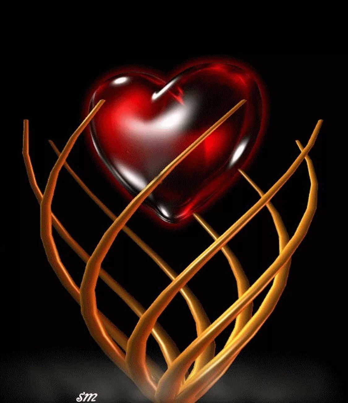 Гифка сердце картинки
