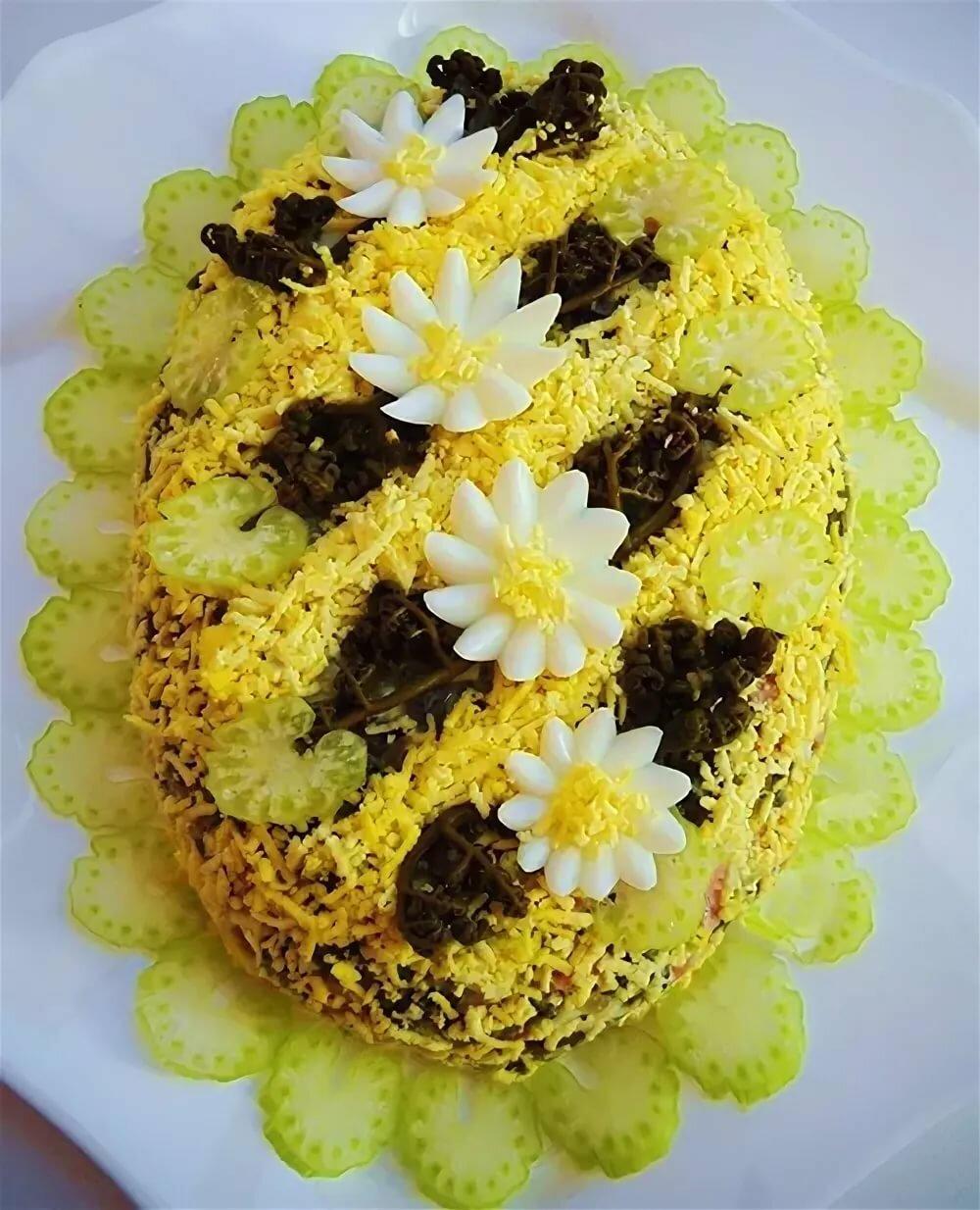 салат три цветка рецепт и фото бесшумных