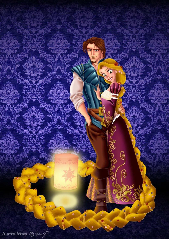 Принцессы диснея картинки с принцами