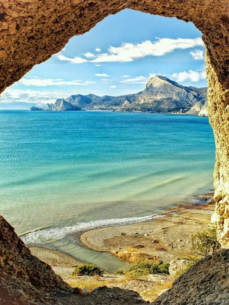 картинки кольца горы море
