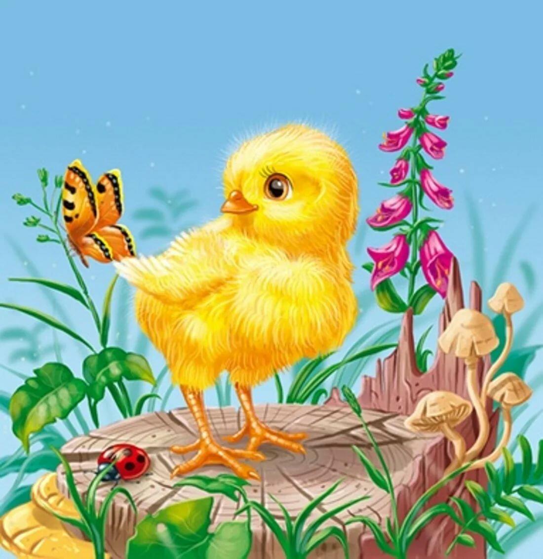 картинки с цыплятами для малышей