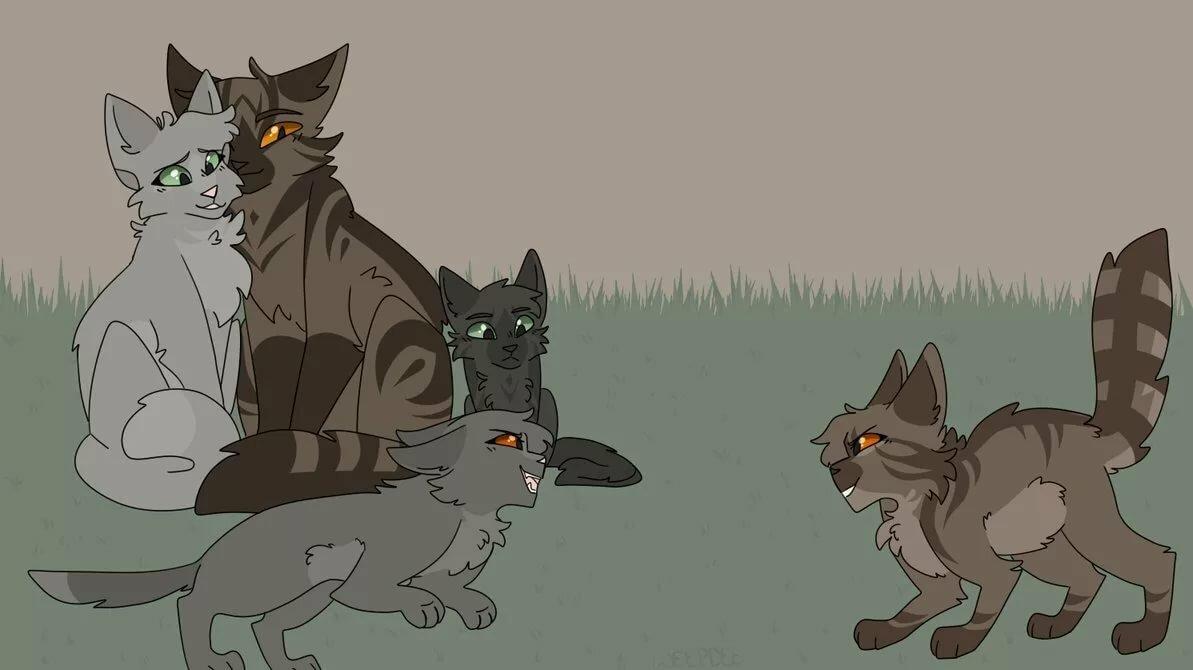 вот коты воители голубка и шмель картинки можете видеть