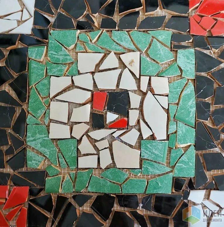 картинки для мозаики из битой плитки фон, если конечно