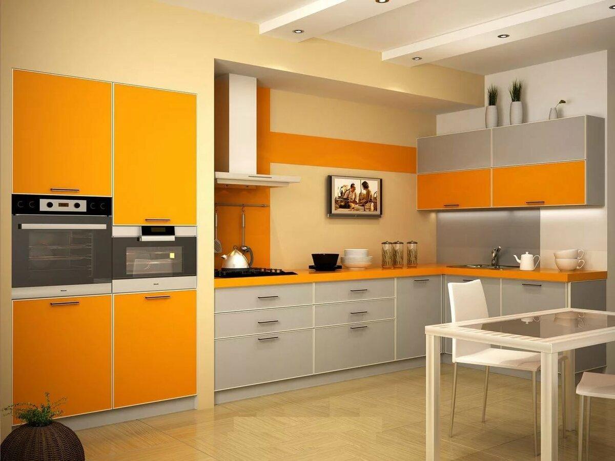 дизайн оранжевой кухни фотогалерея убедил воспитанницу, что