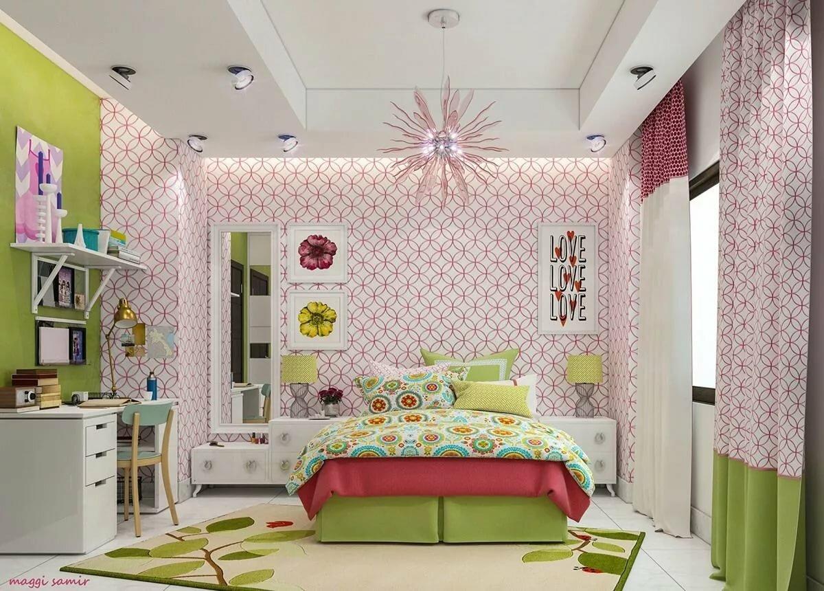 Mod teen bedrooms