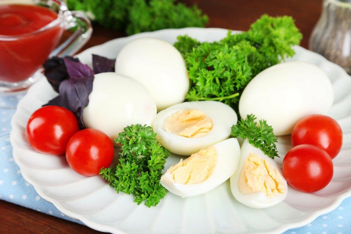 вареные яйца для диеты