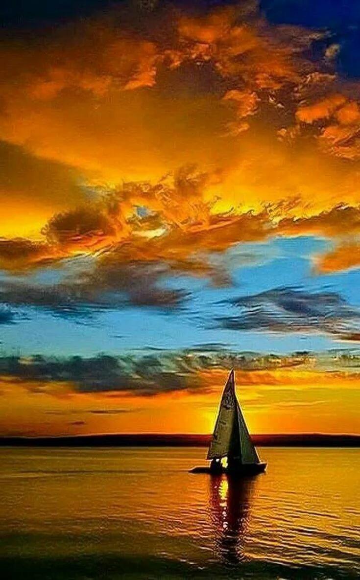 Пин от пользователя Sunny Bunny на доске рай Закаты, Мореплавание и Фотография заката