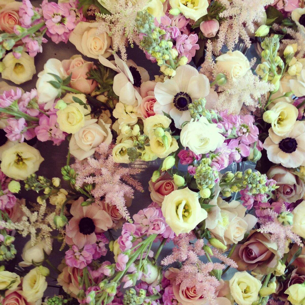 Наложение цветов на фото