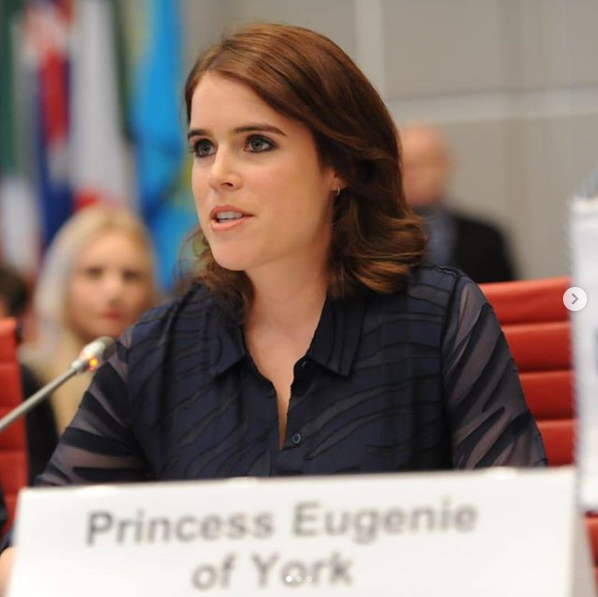 Screenshot 2019 04 09 Princess Eugenie в Instagram «It was fantastic to have the opportunity to speak at the Organisation f[...]