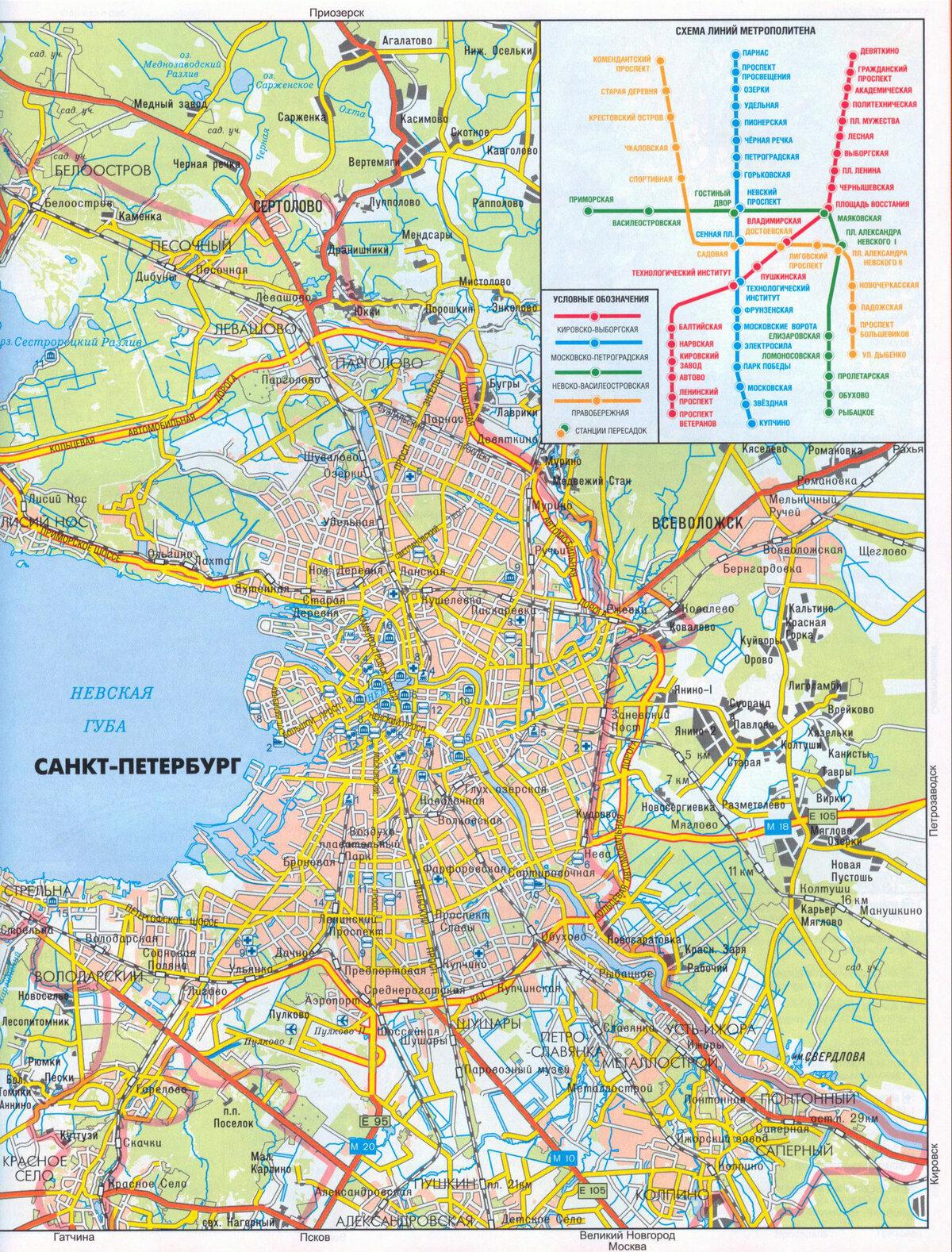Санкт-петербург картинки карты
