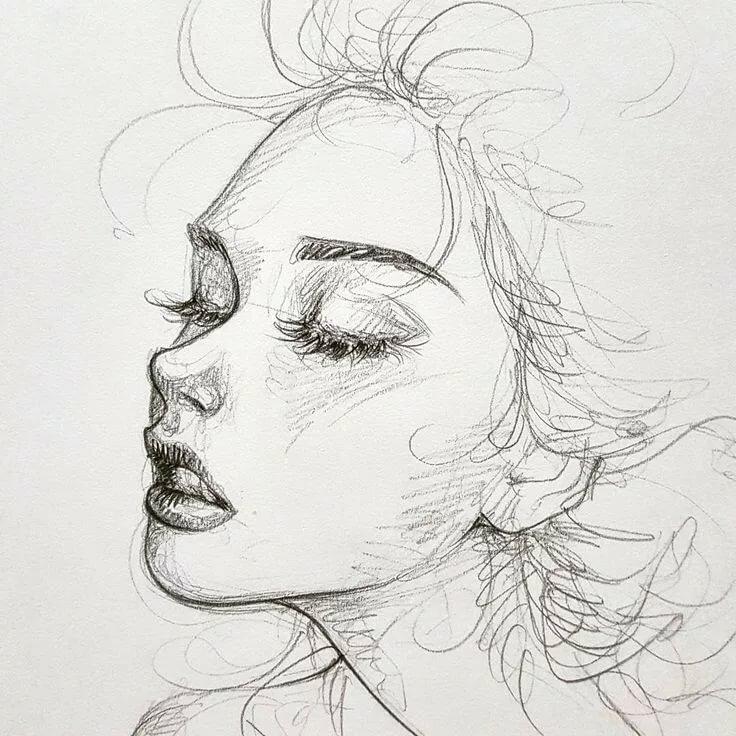 поэтической красивые картинки карандашом эскизы косули редкий