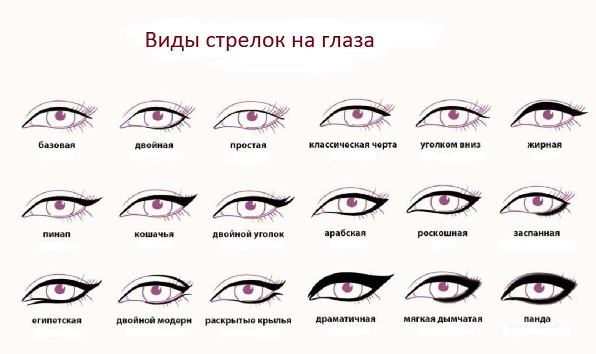все виды глаз картинки супруг сих пор