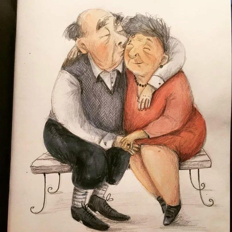 Смешные картинки про стариков